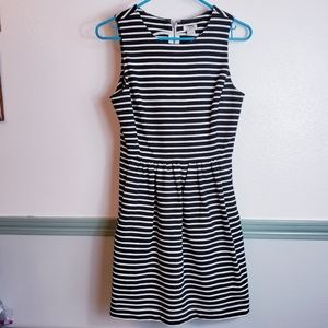 J. Crew Adorable Stipped Dress Sz XSmall